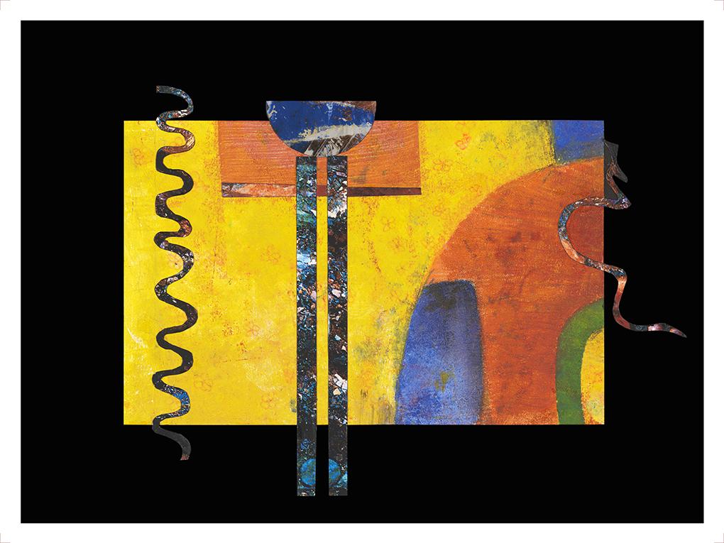 Maria Gwynne - Kandinsky series #2